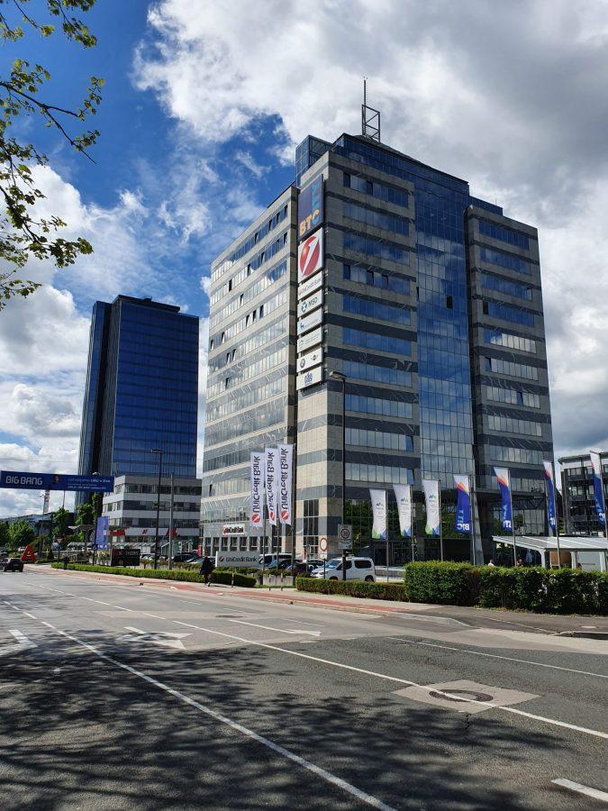 BTC - pisarne v poslovni stavbi BTC CITY