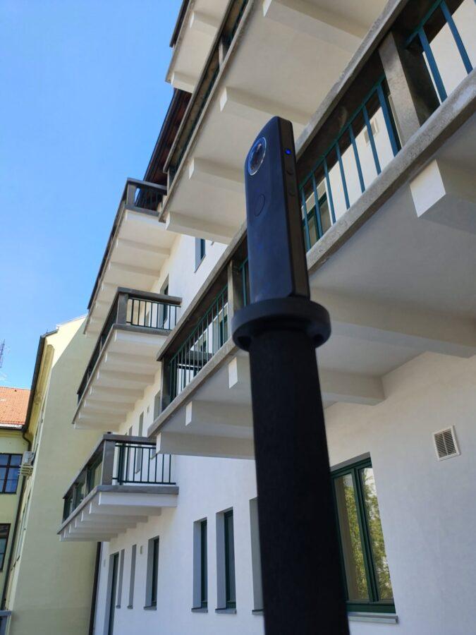 Izdelava virtualnega sprehoda, trenutno najlepših poslovnih prostorov v Centru Ljubljane